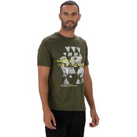 Regatta Fingal III - T-shirt manches courtes Homme - olive